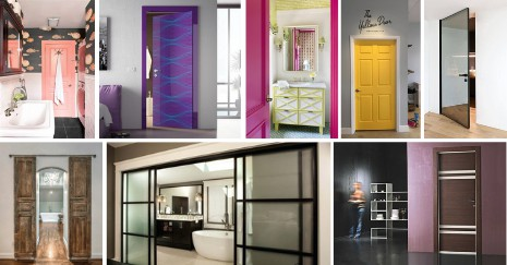 30 Bathroom Door Ideas To Take You To Another Dimension