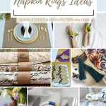 26 Diy Napkin Rings Ideas For Different Occasions