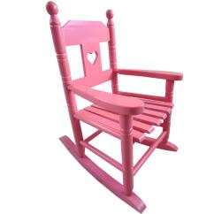Pink Kids Chair White Patio Chairs Childs Rocking Childrens
