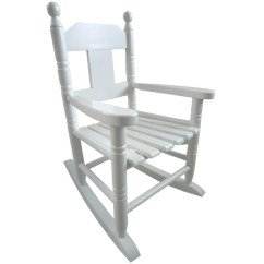 Toddler White Rocking Chair Cap Strength Roman Reviews Childs Childrens Kids