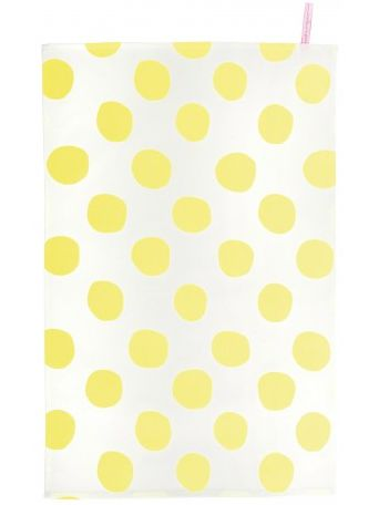 torchon-pois-yellow