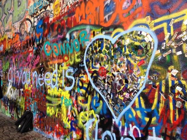 Prague John Lennon wall