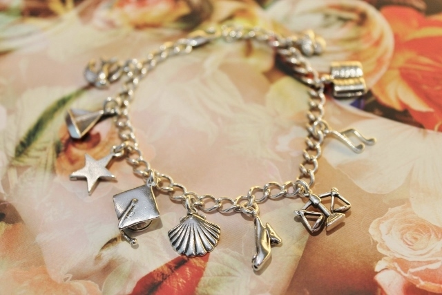 Silver Charm Bracelet from The Charm Works