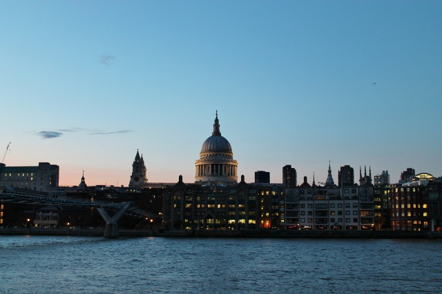 St Paul's Cathedral Sunset