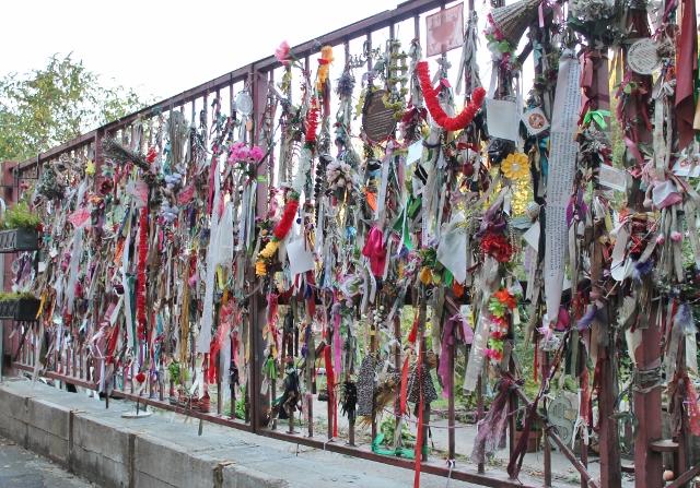 Cross Bones graveyard railings