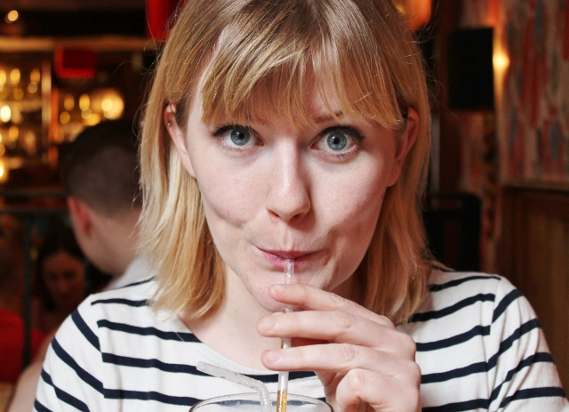 York Oscar's drinking a coke