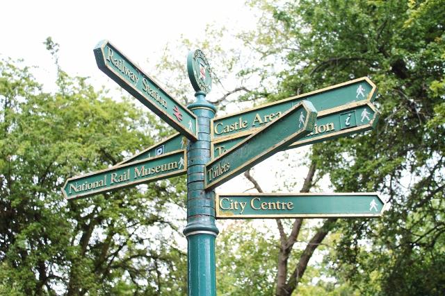 Street signs York