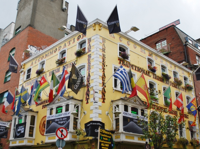 Colourful Dublin Pub