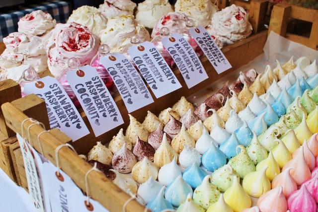 The Meringue Girls meringue selection