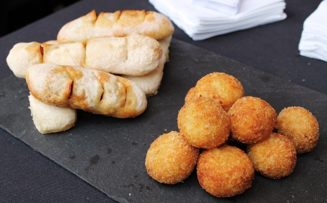 Notting Hill kitchen croquetas and chorizo bread
