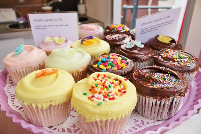 Assorted cupcakes from Primrose Bakery