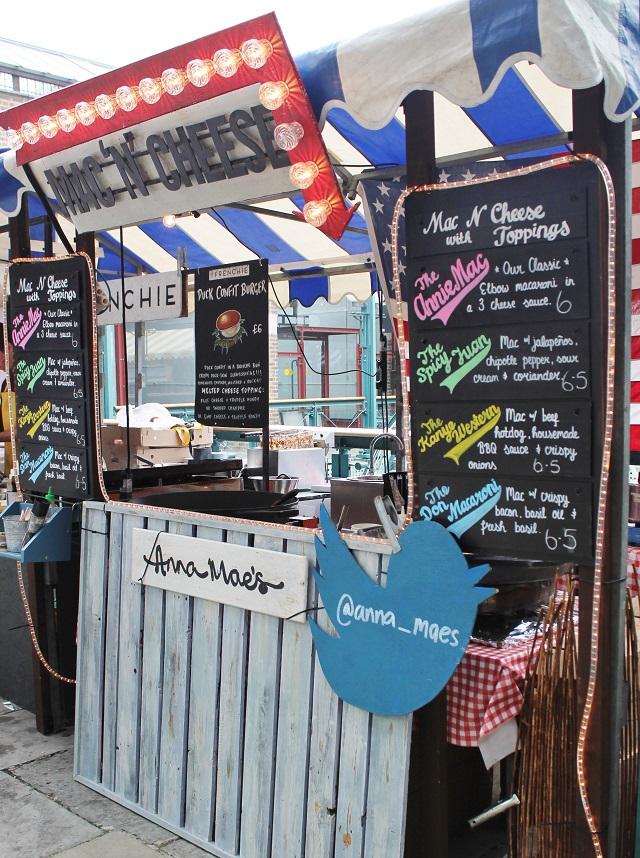 Annie Mae's Mac'n'cheese stall