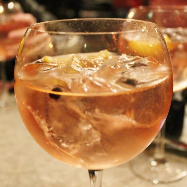 Peach and Raspberry Gin