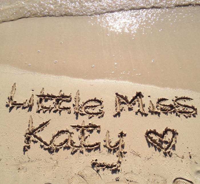 Little Miss Katy beach