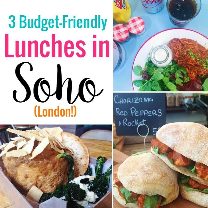 Soho Lunch London