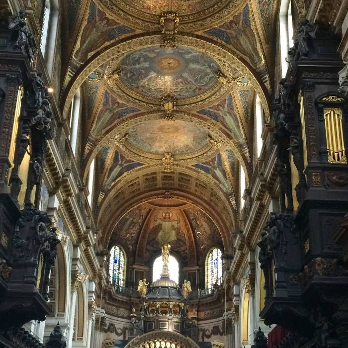 St Pauls Cathedral Afternoon Tea