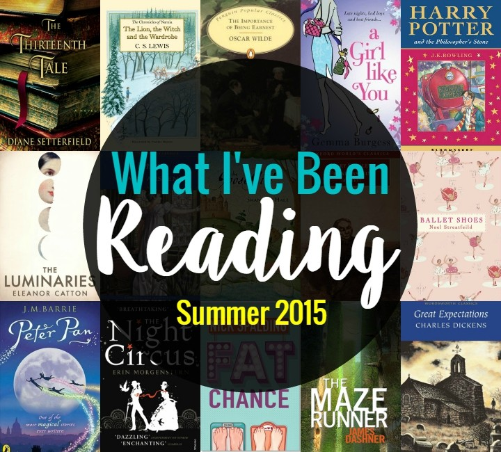 What I've Been Reading Summer 2015