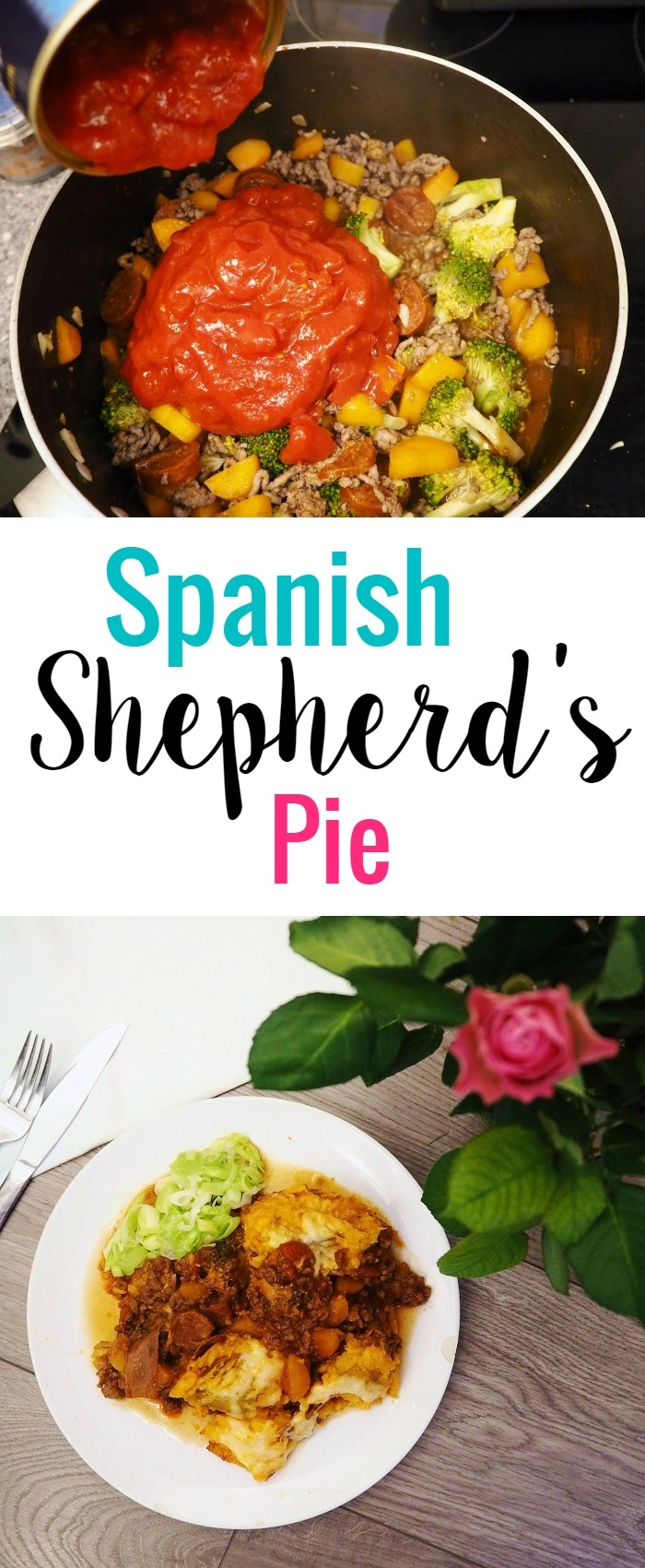 Spanish Shepherd's pie