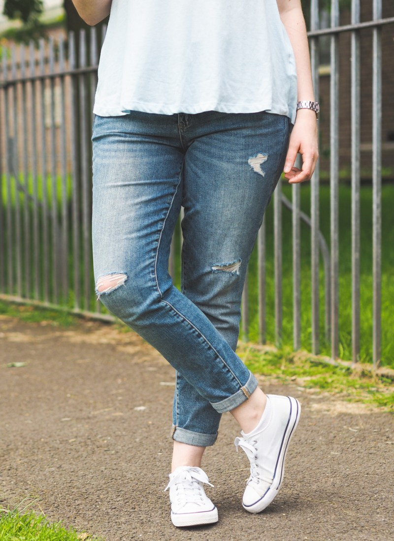 My Fake Boyfriend Jeans