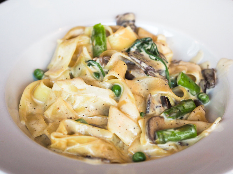 pappardelle with wild mushrooms