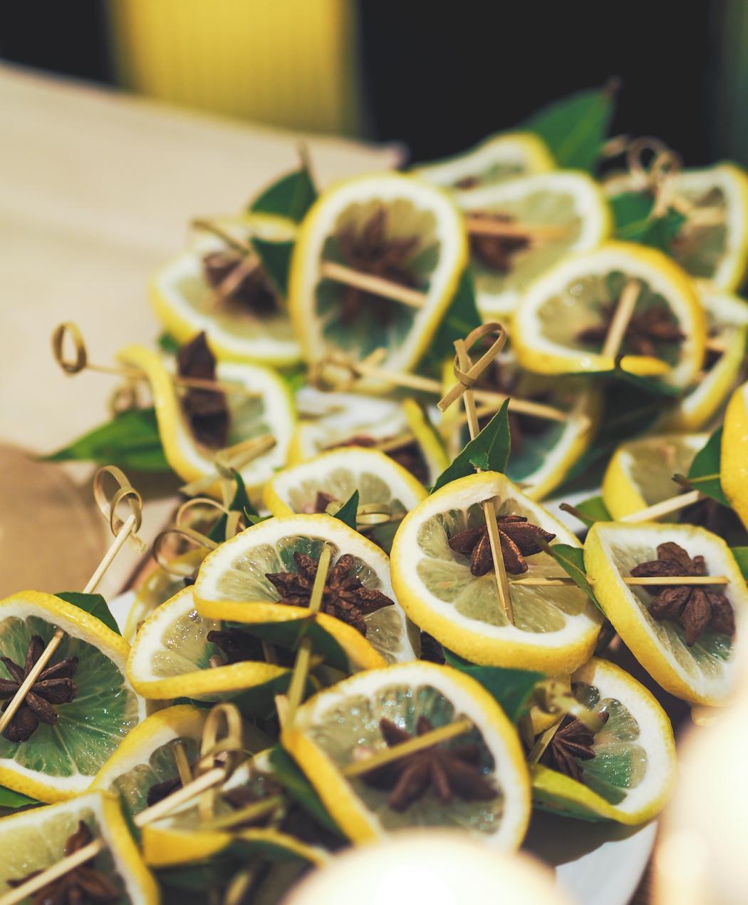 lemon and star anise