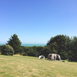 A Camping Weekend in Kingsdown Kent