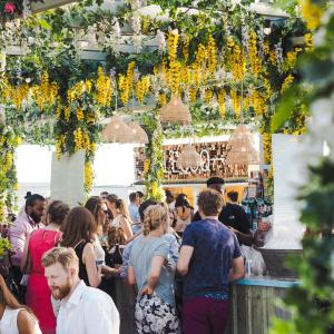 Summer Nights at London's Pergola on the Roof