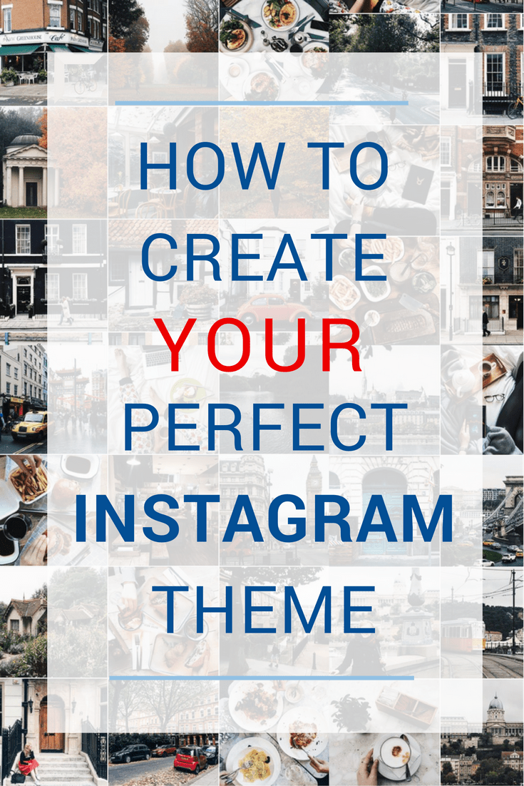 how to instagram theme