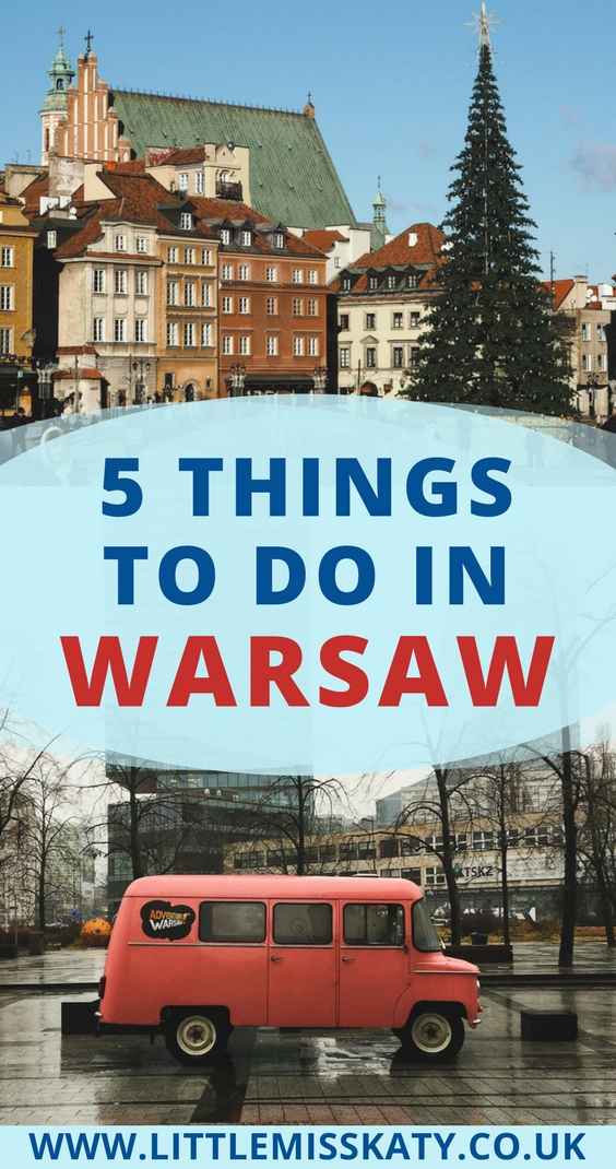 five things to do in warsaw