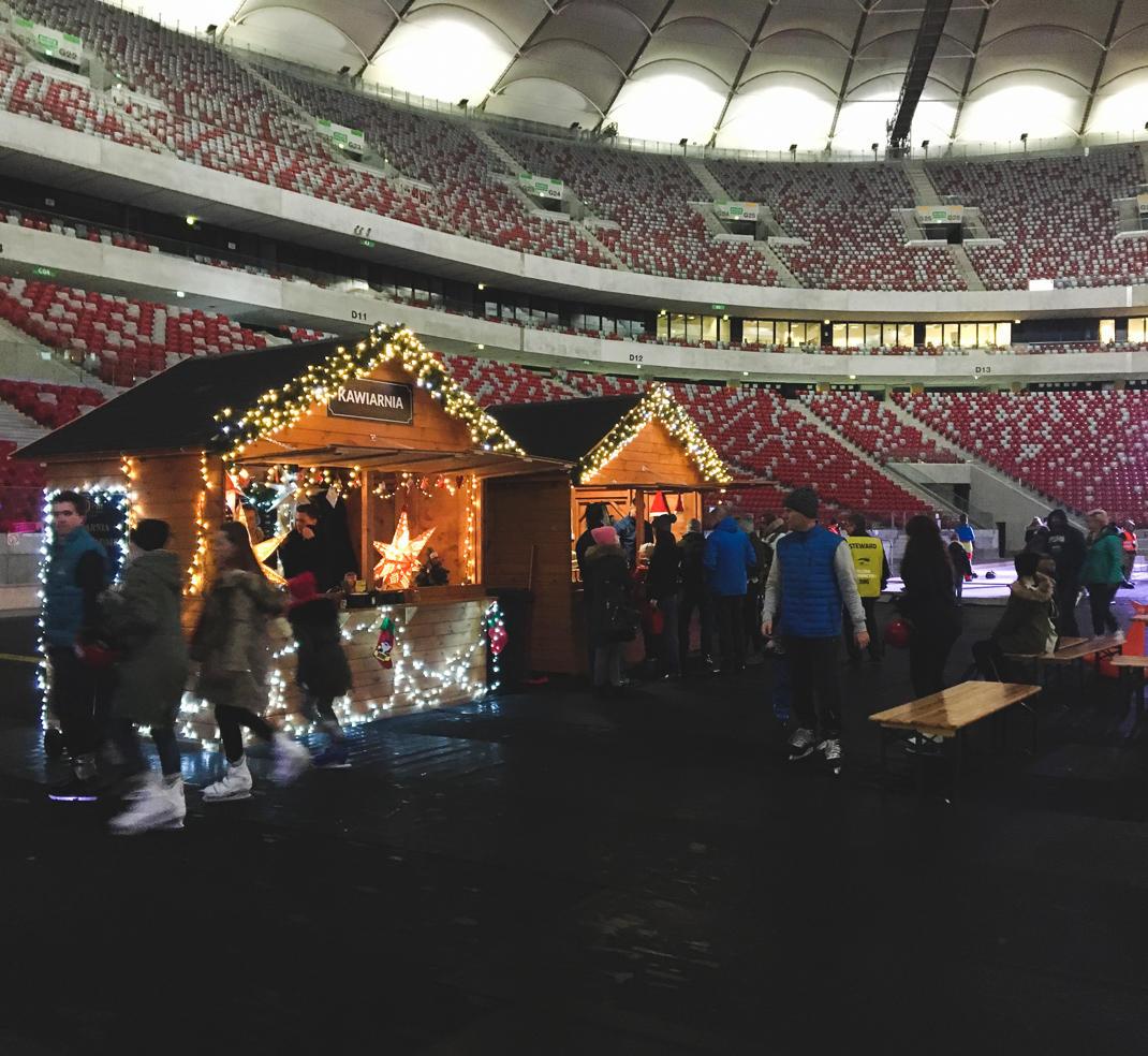 warsaw national stadium winter