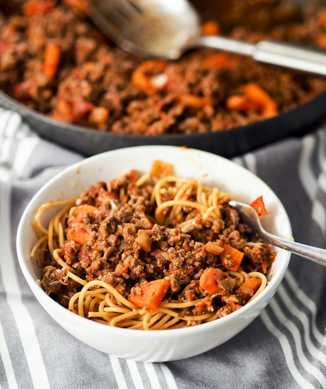 ultimate spaghetti bolognaise