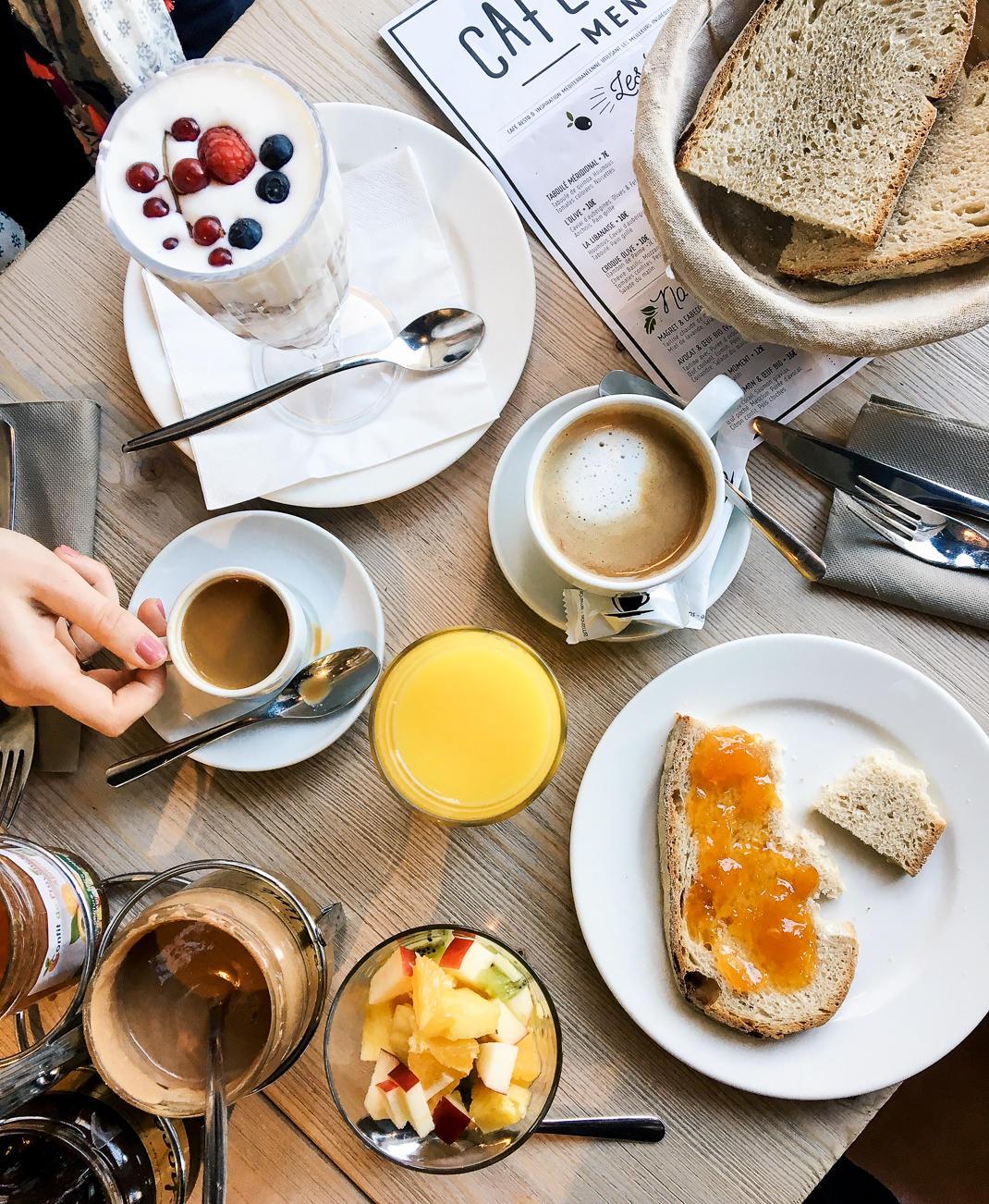 breakfast in lille