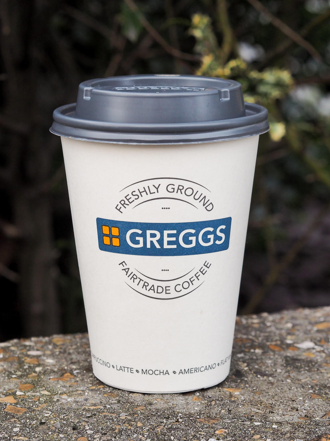 greggs fairtrade coffee