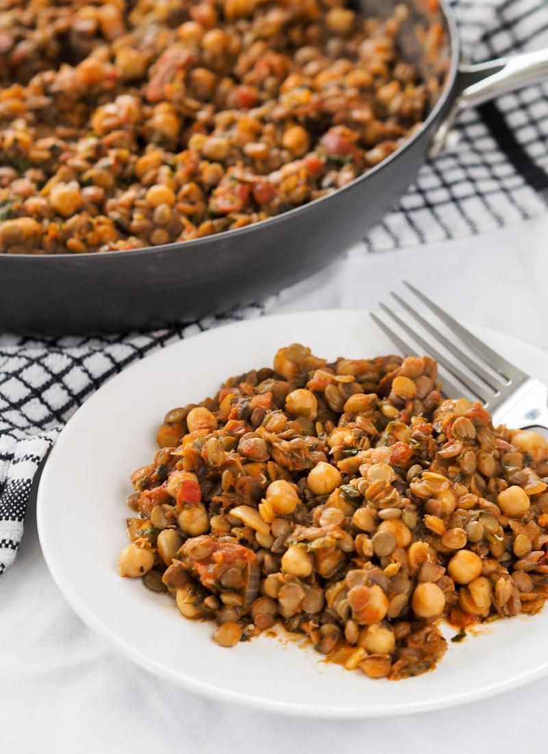 Smokey Chorizo, Lentil and Chickpea Stew