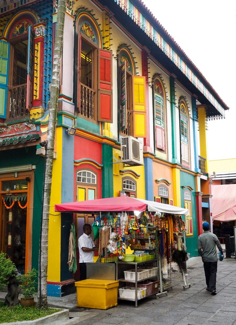 The Colorful Streets of Little India in Singapore