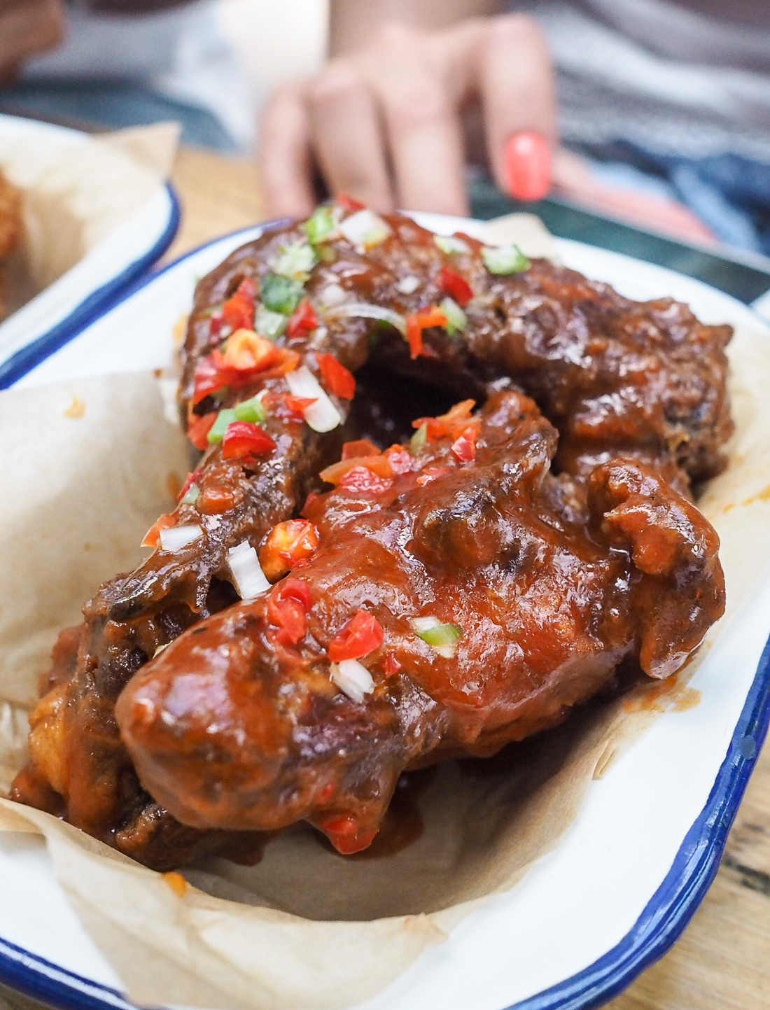 spicy chilli wings brixton