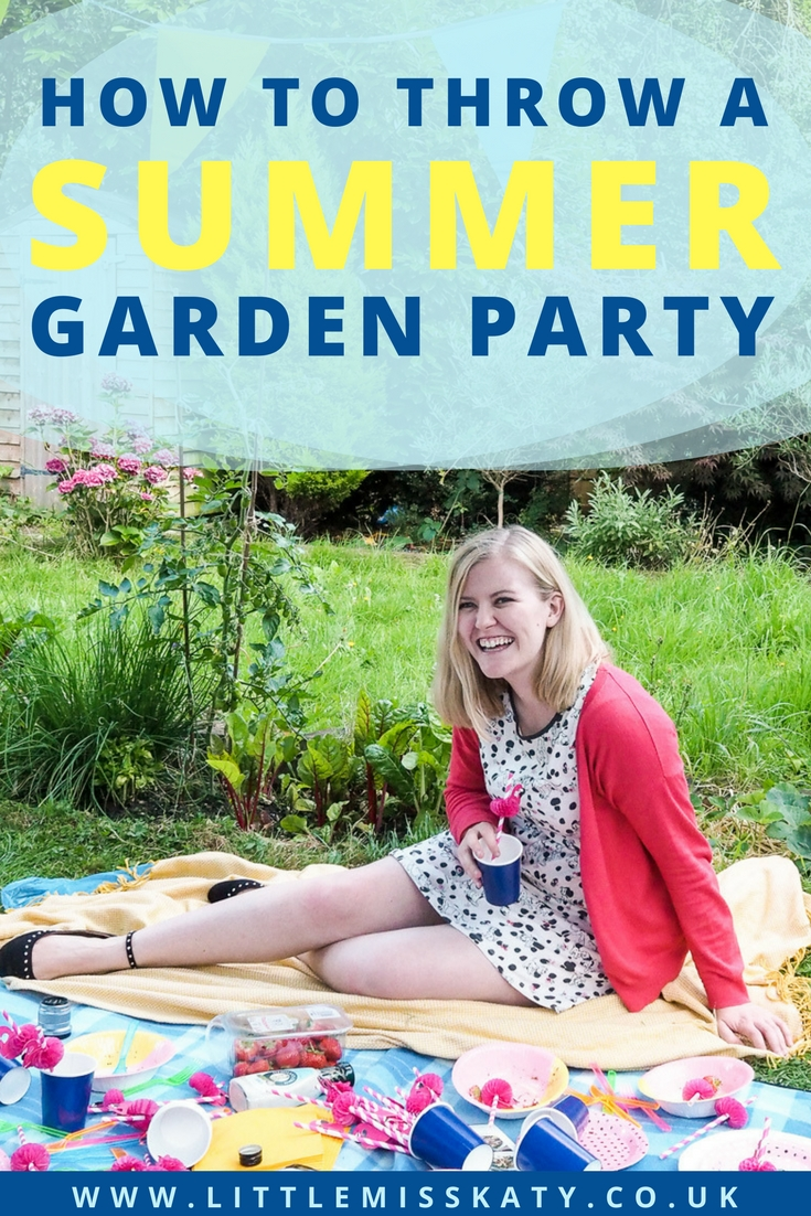 Tips to help you plan a summer garden party without the stress!