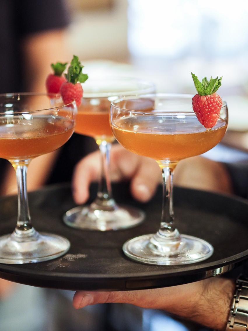 cocktails at Hanger