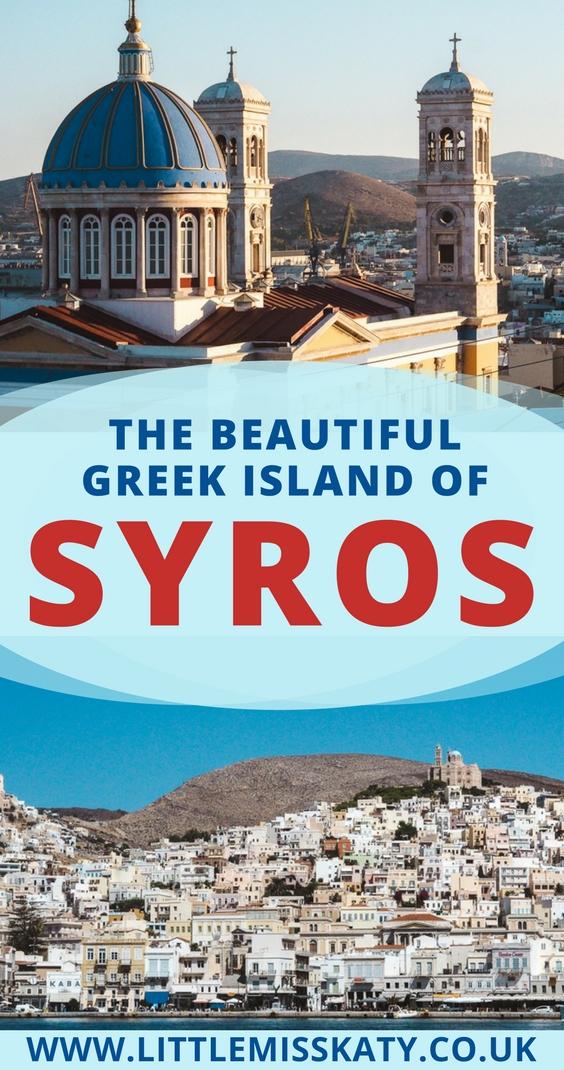 SYROS, greek island