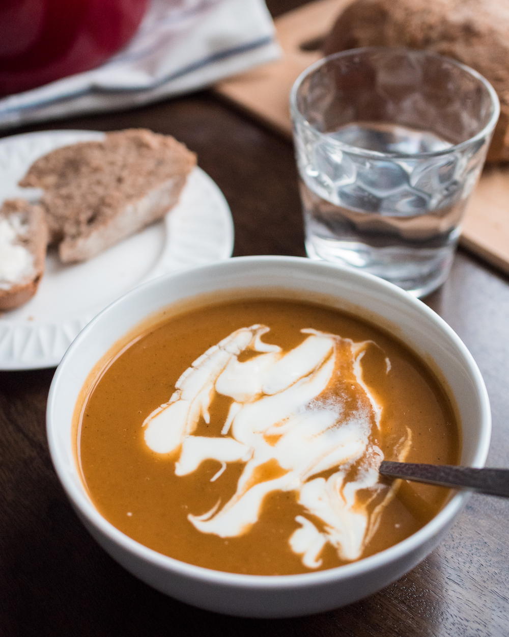 butternut squash and sweet potato soup