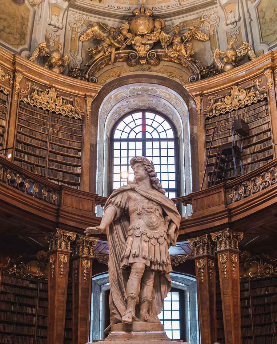 state hall of the austrian national library