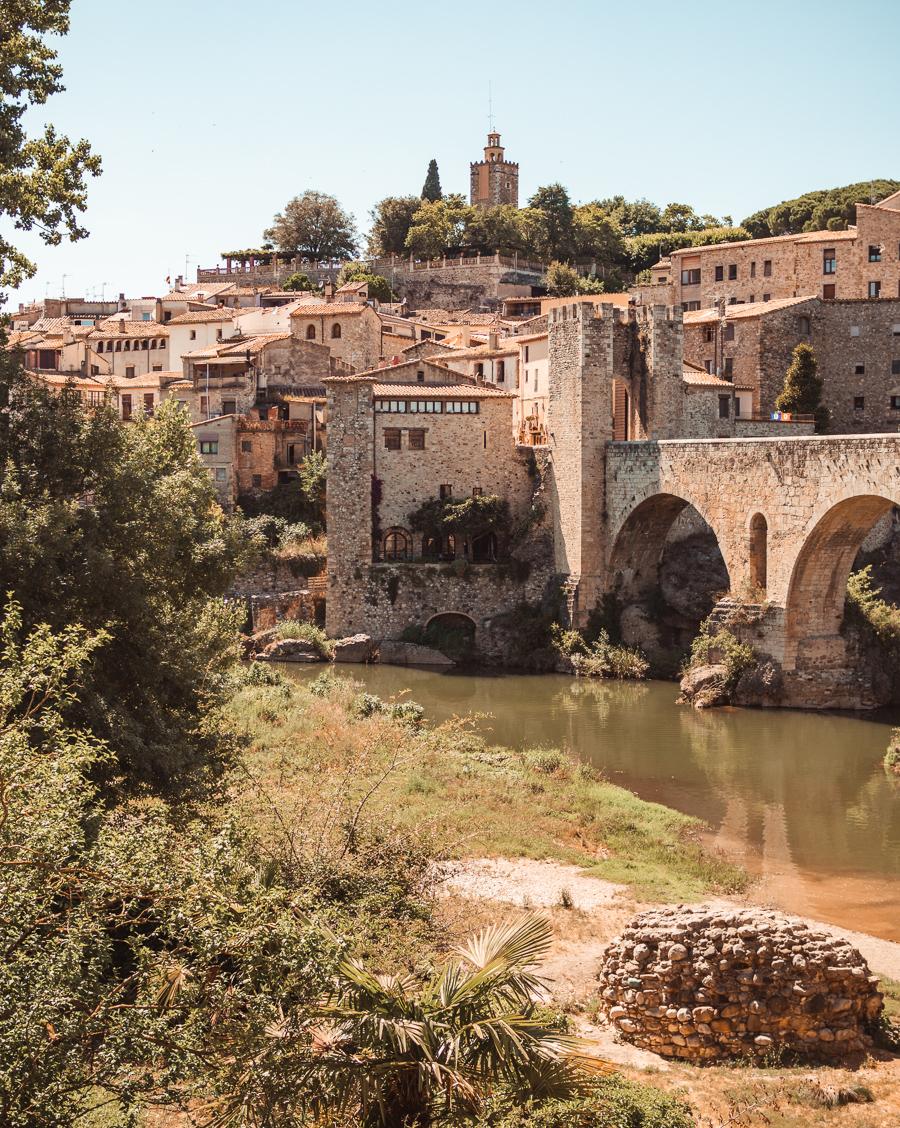 Besalu medieval village in Spain