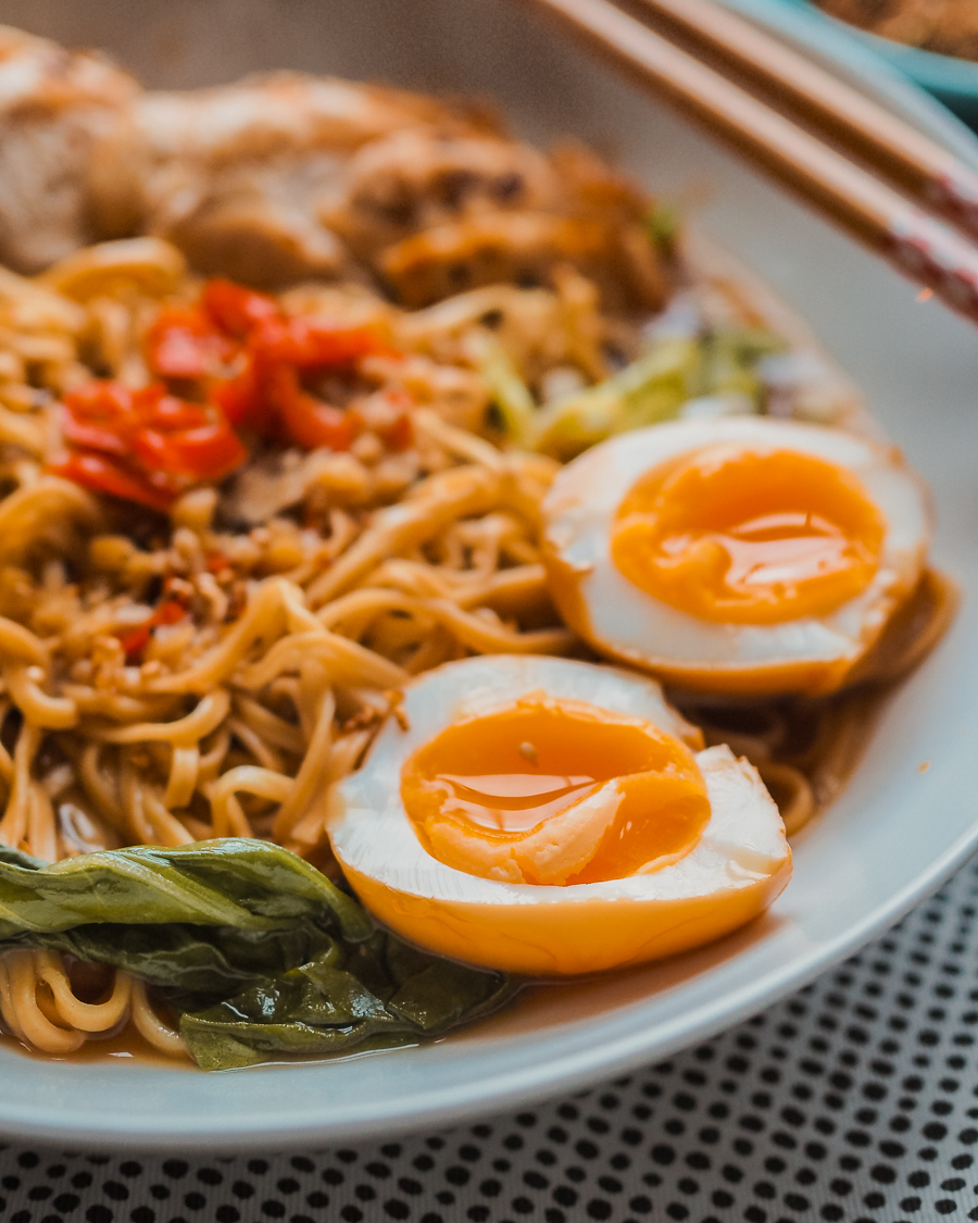 ramen marinated eggs