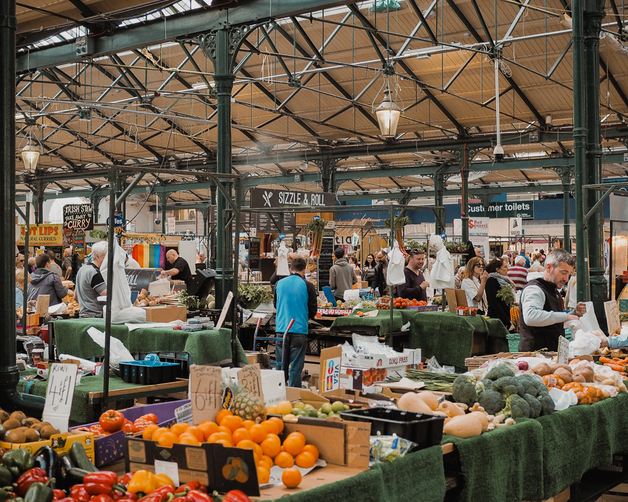 St George's Market in Belfast