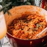 Italian mussel risotto