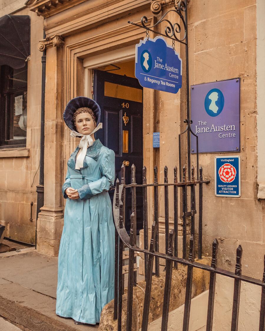 Jane Austen Centre in Bath