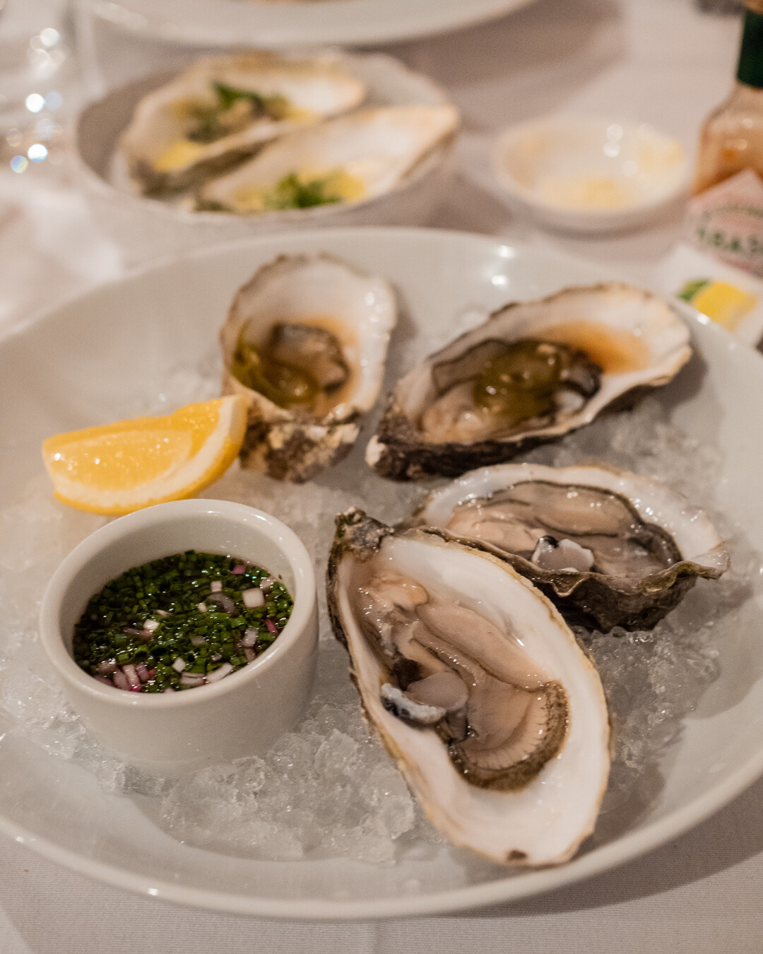 Jersey oysters at Sumas