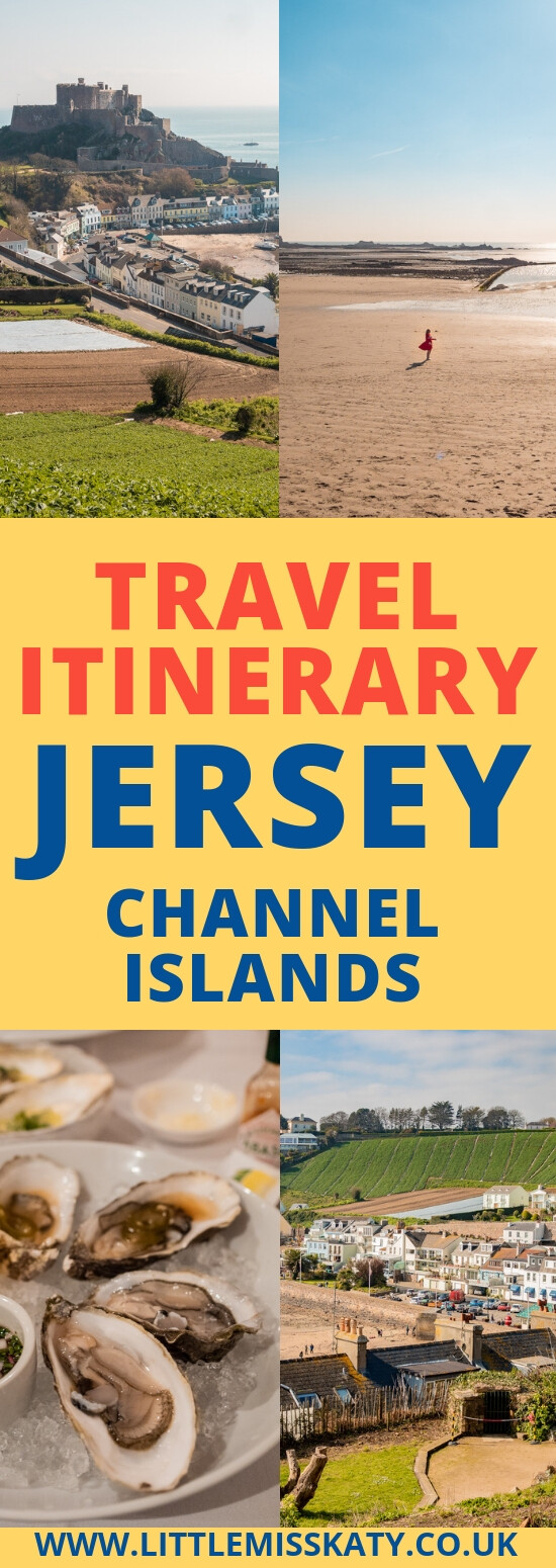 Travel Itinerary: three days in Jersey, Channel Islands. Things to do, see and eat!