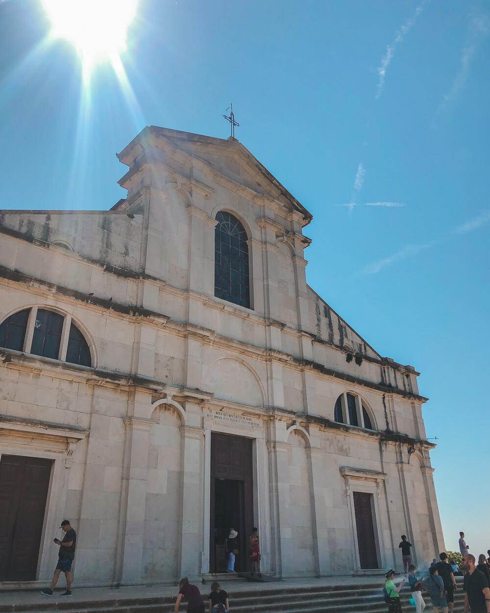 Rovinj church in Istria