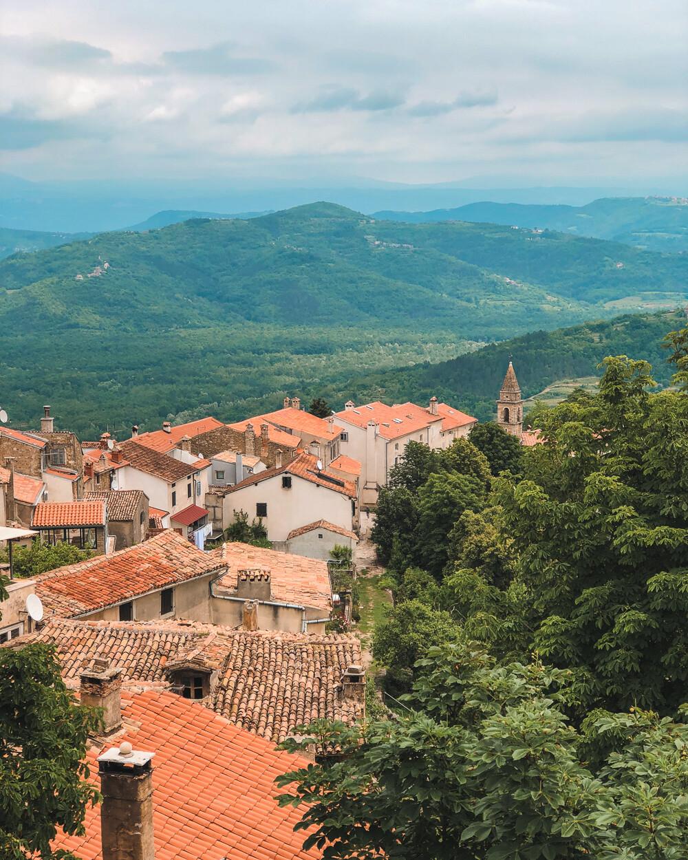 Motovun views, Croatia